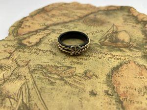 Кольцо — История жизни  «Золотой Морской узел». Ярмарка Мастеров - ручная работа, handmade.