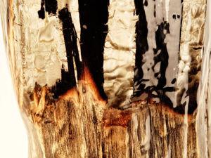 Мастерим «Огненный светильник» из дерева и смолы. Ярмарка Мастеров - ручная работа, handmade.