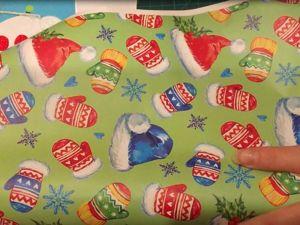 Новогодний подарок. Идея из бумаги для упаковки подарков. Ярмарка Мастеров - ручная работа, handmade.