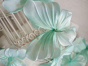 Создаем бабочку из шелка. Ярмарка Мастеров - ручная работа, handmade.