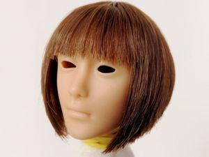 Создаем парик для куклы с помощью клеевого термопистолета. Ярмарка Мастеров - ручная работа, handmade.