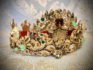 Мужская корона «Защитник». Ярмарка Мастеров - ручная работа, handmade.
