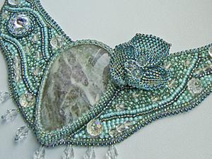 Обзор по вышивке украшений бисером для начинающих. Ярмарка Мастеров - ручная работа, handmade.