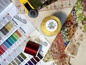 Лоскутный эфир 65. Как найти «правильные» нитки для лоскутного шитья?. Ярмарка Мастеров - ручная работа, handmade.
