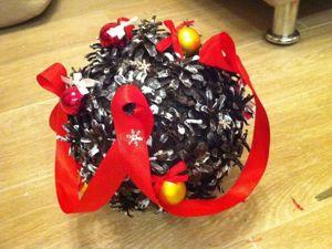 Новогодний топиарий, или Как перехитрить своего кота. Ярмарка Мастеров - ручная работа, handmade.
