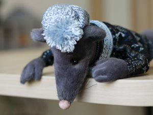 Видео обзор мышонок Шуша. Ярмарка Мастеров - ручная работа, handmade.