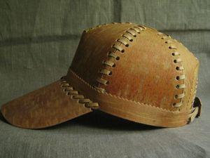 Делаем бейсболку из бересты. Ярмарка Мастеров - ручная работа, handmade.