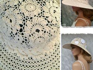 Видео. Шляпка  «Marmaris». Ярмарка Мастеров - ручная работа, handmade.