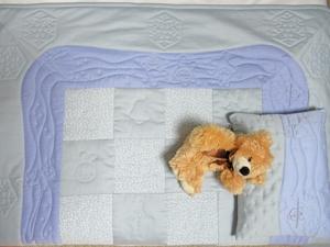 Детское одеяло и подушка Зимние истории. Ярмарка Мастеров - ручная работа, handmade.