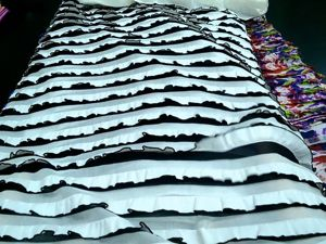 Рюша белая на чёрном 360 руб. Ярмарка Мастеров - ручная работа, handmade.