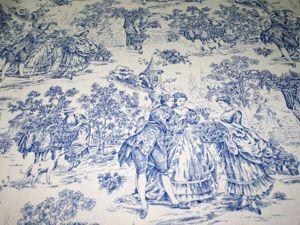 Ткань Туаль де жуи. Ярмарка Мастеров - ручная работа, handmade.