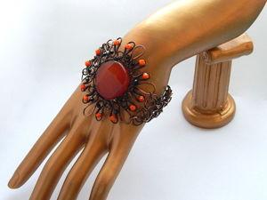 Аукцион на три медных украшения. Ярмарка Мастеров - ручная работа, handmade.