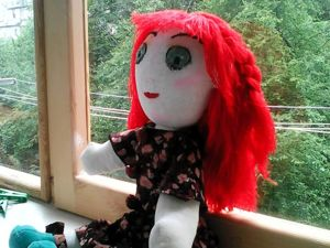 Первая кукла. Ярмарка Мастеров - ручная работа, handmade.