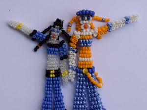Создаем милых девочек из бисера. Часть 2. Ярмарка Мастеров - ручная работа, handmade.