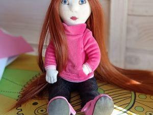 Моя первая куколка. Ярмарка Мастеров - ручная работа, handmade.