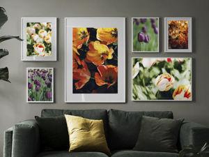 Коллекция Цветы: тюльпаны и гиацинты. Ярмарка Мастеров - ручная работа, handmade.