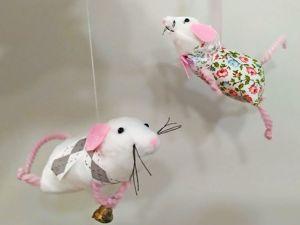 Шьем новогодний сувенир «Мышка. Пять минут, полет нормальный». Ярмарка Мастеров - ручная работа, handmade.