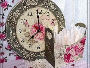 "МК часы ""Старинные розы"". Ярмарка Мастеров - ручная работа, handmade."