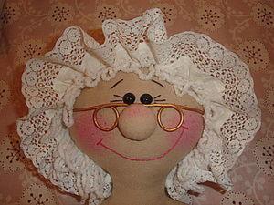 """Чепчик для куклы """"Пакетницы"""". Ярмарка Мастеров - ручная работа, handmade."""