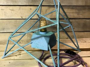 Делаем настольную лампу. Ярмарка Мастеров - ручная работа, handmade.