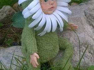 Видео мастер-класс по созданию куклы Ромашка со скидкой 50%. Ярмарка Мастеров - ручная работа, handmade.