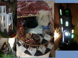Создаем домик-ночник из папье-маше. Ярмарка Мастеров - ручная работа, handmade.