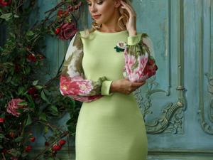 Аукцион на Очаровательное вязаное платье! Старт 3000 руб.!. Ярмарка Мастеров - ручная работа, handmade.