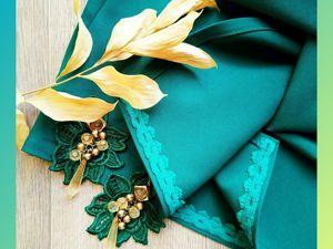 Платье-трансформер, со съемной юбкой в зеленом цвете!. Ярмарка Мастеров - ручная работа, handmade.