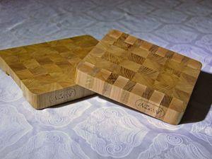 Процесс изготовления торцевой разделочной доски. Ярмарка Мастеров - ручная работа, handmade.