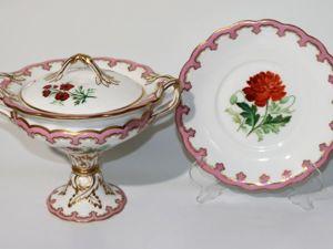 Вазочка для десерта, «Minton» , конец 19 века. Ярмарка Мастеров - ручная работа, handmade.