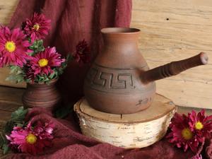 Скидка 25% на любую турку с орнаментом Меандр до 14 февраля. Ярмарка Мастеров - ручная работа, handmade.