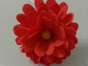 Создаем миниатюрные маргаритки из зефирного фоамирана — как элемент декора. Ярмарка Мастеров - ручная работа, handmade.