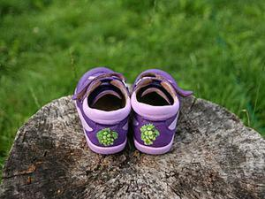Как виноград превратить в «изюминку»: преображение детской обуви. Ярмарка Мастеров - ручная работа, handmade.