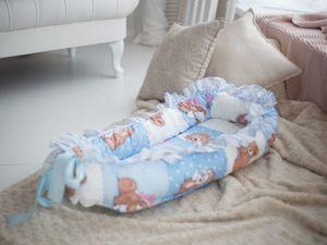Гнездо для новорожденного. Ярмарка Мастеров - ручная работа, handmade.