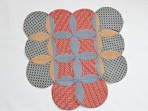Cathedral Window. Мастер-класс как сшить коврик. Ярмарка Мастеров - ручная работа, handmade.