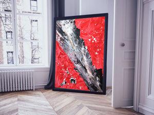 Красный цвет в интерьере. Ярмарка Мастеров - ручная работа, handmade.
