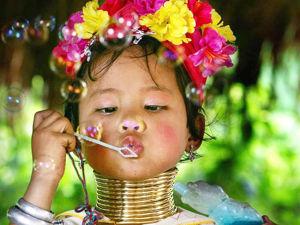 Традиционные серебряные украшения знаменитого племени Карен. Ярмарка Мастеров - ручная работа, handmade.