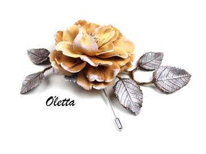 Создаем зимнюю брошь с цветком шиповника. Ярмарка Мастеров - ручная работа, handmade.