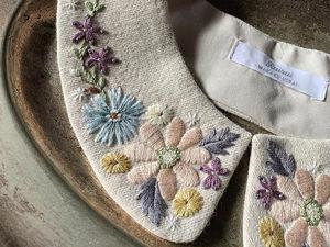 Невыносимая нежность бытия: японская мастерица украшает аксессуары вышивкой и превращает их в идеальные образчики женственности. Ярмарка Мастеров - ручная работа, handmade.