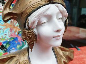 Красавица эпохи Арт нуво появилась в моём магазине. Ярмарка Мастеров - ручная работа, handmade.