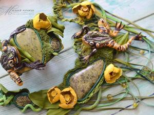 Солнечный день на болоте! Видео. Ярмарка Мастеров - ручная работа, handmade.