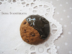 Cookies of Polymer Clay for Jewellery or Dolls' Party. Livemaster - handmade
