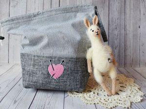 Комплект: сумка для рукоделия и игрушка для вдохновения!. Ярмарка Мастеров - ручная работа, handmade.