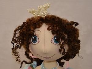 Корона для куклы из бусин.. Ярмарка Мастеров - ручная работа, handmade.