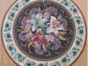 Новая работа  « Королевские лилии». Ярмарка Мастеров - ручная работа, handmade.