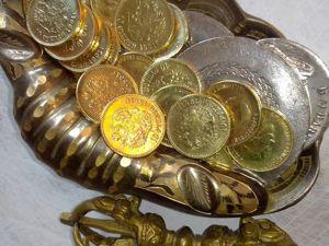 """Талисман-магнит финансовой удачи «Золотой Червонец"""". Ярмарка Мастеров - ручная работа, handmade."""