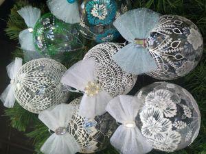 Видео презентация Новогодних шариков!. Ярмарка Мастеров - ручная работа, handmade.