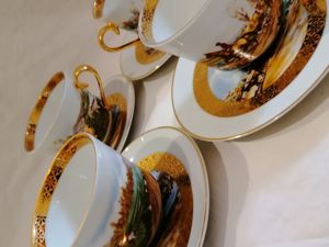 Charlionais et Pourailly Лимож Чайные пары. Ярмарка Мастеров - ручная работа, handmade.