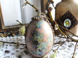 Шесть способов декора интерьерных яиц. Мастер-класс №5. Ярмарка Мастеров - ручная работа, handmade.