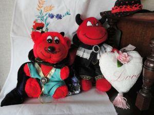Хэллоуин с любовью! Забавные персонажи в подарок к весёлому празднику. Ярмарка Мастеров - ручная работа, handmade.